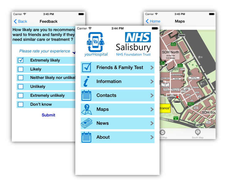 NHS Friends and Family Test App