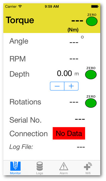 Torque Monitoring App